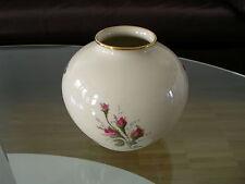 Rosenthal Vase Blumenvase Flower Vase Creme Cream Moosröschen Moss Rose