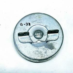 Vintage Stant G31 Metal Gas Tank Cap 1953-60 Edsel Ford Lincoln Massey-Ferguson
