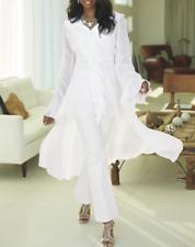 Ashro Alameda Hi-Lo Top Tunic Blouse NEW  size XL