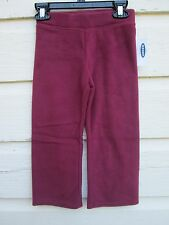 Old Navy Boys Toddler Marion Berry Fleece Sweat Pants Size 4t NEW NWT