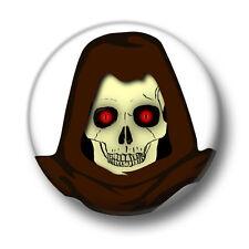 Skull 1 Inch / 25mm Pin Button Badge Skulls Skeletons Ghosts Ghouls Enemy Bones