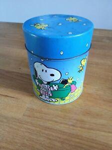 Snoopy Vintage Tin