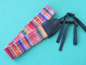 DSLR Universal Vintage Durable Cotton Neck Strap for Nikon D750 D610 D7200 D7100