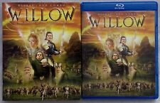 WILLOW BLU RAY DVD 2 DISC SET + VERY RARE OOP SLIPCOVER SLEEVE FREE SHIPPING BUY
