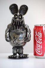 Metal Sculpture RAT Scrap Metal Art Cool Gifts For Boy Friend Gifts For Men