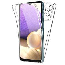 Cover Für Samsung Galaxy A32 5G Schutzhülle Transparent Vorne Retro Silikon 360