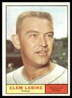 1961 Topps Clem Labine Pittsburgh Pirates #22