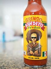 Gringo Bandito - Hot Sauce 5oz - Made In USA - New Sealed B2G1 Free