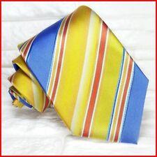 Cravatta TOP Regimental Made in Italy SETA business matrimoni  RP € 34