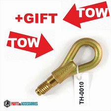 Tow hook ring towing lug bolt car racing eye fits Audi A4 A6 8EC 8ED 8HE + GIFT