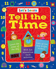 Lets Learn Tell the Time,clock activities, teach your child how to tell the Time