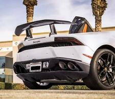 Carbon Fiber Rear Wing Spoiler for Lamborghini Huracan LP580 LP610  2015-2018