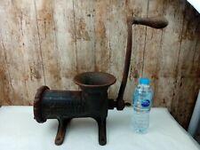 More details for huge! antique no.32 enterprise tinned meat chopper cast iron grinder mincer usa