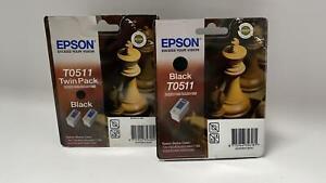 Epson T0511 Dreierpack Original Druckerpatronen Schwarz - A251