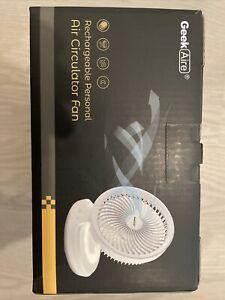 Geek Site Rechargeable Personal Air Circulator Smart Fan Battery App Control GF6