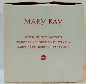 Mary Kay Hydrogel Eye Patches 30 Pairs Soothes Cools Hydrates Puffy 8/22 3.5 oz