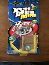 Teck Deck Mini 57mm New Deal Tech Deck with ramp 1999