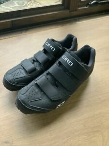 GIRO RIELA R WOMEN'S MTB CYCLING SHOES EU 40 UK 6 BIKE SPD LADIES BLACK
