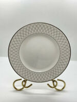 Waterford Crosshaven Platinum Bread & Butter Plate Fine English China England 6""