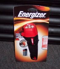 NEW ENERGIZER LED RUBBER LIGHT W/ FOLDING STAND - BRIGHT WHITE LED FLASHLIGHT