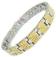 Magnetic Bracelet Therapy Bio Energy Power Health Arthritis Wristband