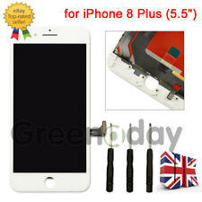White For iPhone 8 Plus LCD Touch Display Assembly Digitizer Screen Replacement