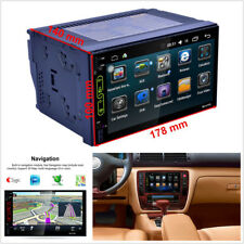 "7"" Android WIFI Double 2DIN Car Radio Stereo MP5 Player Sat GPS Navigation Touch"