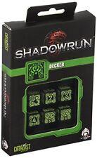 Dés de jeux Shadowrun Decker par Q-workshop