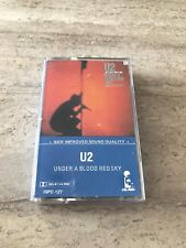 U2 Cassette Under a Blood Red Sky Tape