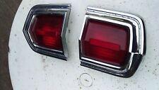 1966 PLYMOUTH FURY TAIL LIGHTS LH & RH used condition MOPAR CHRYSLER VALIANT