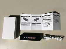 LEXCORP Portable Battery - Black - Batman vs Superman - NYCC - Phone Charger
