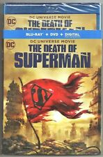 DC Universe Movie The Death Of Superman Blu-ray + DVD + Digital w/ Slip Cover
