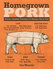 Homegrown Pork : Humane, Healthful Techniques for Raising a Pig for Food by Sue