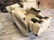 Cream Osaki TI-7700R S-Track Massage Chair Zero Gravity Recliner + Heat