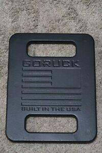 GORUCK 20 LB Ruck Plate For The Rucker -Black - New Unused!
