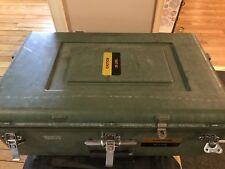 ECS Carryon Padded Divider Travel Case 23 x 14x 7 Green Wheels Handle Laptop Gun