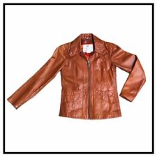 vintage leather jacket women