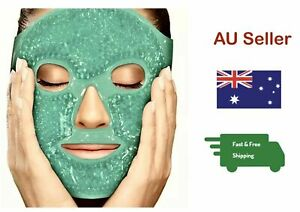 2 in 1 Dolson Gel Mask Ice Compress Full Face Mask Hot Cold Therapy Men Women