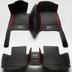 linfei F/ür Infiniti Qx30 2016-2018 Isoliermatte Dash Mat Dashmat Black Carpet Cover
