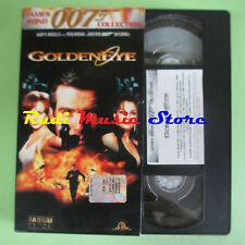 film VHS cartonata GOLDENEYE James Bond 007 collection FABBRI (F83) no dvd