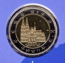 Deutschland  2 Euromünze Kölner Dom-J -2011 In PP Bankfrisch
