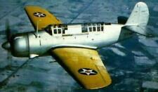 SB2A Buccaneer Brewster USA Bomber Airplane Mahogany Kiln Dry Wood Model Large
