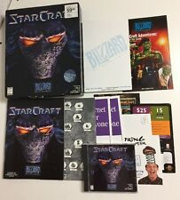 Star Craft (PC 1997) Blizzard Entertainment CD-ROM Computer Game Complete in Box