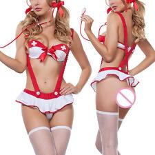 Sexy Enfermera Cosplay Disfraz Despedida De Soltera disfraz