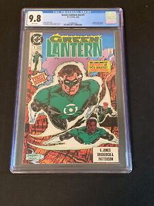 Green Lantern v3 #1 CGC 9.8 (1990) Batman Blue Beetle Highest Grade White Pages