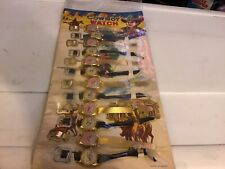Vintage Mid Century Western Cowboy Watch Childrens Toy Collectible Store Display