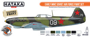 Hataka HTK-CS33 Early WW2 Soviet Air Force Paint Set 8x17ml