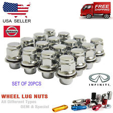 20PCS 12X1.25 OEM REPLACEMENT LUG NUTS (FIT: NISSA GTR INFINITY G37)