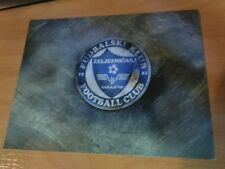 Zeljeznicar FC Sarajevo Football Large Postcard RARE from Club Shop