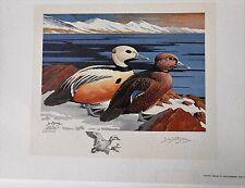 RW40 - Federal Duck Remarqued Print. With Folio & Stamp.    #02 RW40PR